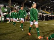 1 December 2020; Denise O'Sullivan of Republic of Ireland prior to the UEFA Women's EURO 2022 Qualifier match between Republic of Ireland and Germany at Tallaght Stadium in Dublin. Photo by Stephen McCarthy/Sportsfile