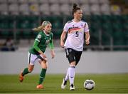 1 December 2020; Marina Hegering of Germany in action against Denise O'Sullivan of Republic of Ireland during the UEFA Women's EURO 2022 Qualifier match between Republic of Ireland and Germany at Tallaght Stadium in Dublin. Photo by Stephen McCarthy/Sportsfile