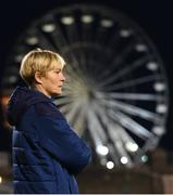 1 December 2020; Republic of Ireland manager Vera Pauw during the UEFA Women's EURO 2022 Qualifier match between Republic of Ireland and Germany at Tallaght Stadium in Dublin. Photo by Stephen McCarthy/Sportsfile