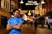 24 November 2020; Davy Byrne of Dublin poses for a portrait on Grafton Street in Dublin during the GAA Football All Ireland Senior Championship Series National Launch. Photo by Brendan Moran/Sportsfile