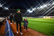 8 December 2020; (EDITOR'S NOTE: This image was created using a starburst filter) Members of Thomas Davis GAA club Aideen Byrne and her daughter Jude, age 5, during the launch of Ireland Lights Up 2021 in partnership with RTÉ's Operation Transformation and Get Ireland Walking at Croke Park in Dublin. Photo by David Fitzgerald/Sportsfile