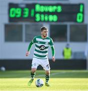 29 November 2020; Dylan Watts of Shamrock Rovers during the Extra.ie FAI Cup Semi-Final match between Shamrock Rovers and Sligo Rovers at Tallaght Stadium in Dublin. Photo by Stephen McCarthy/Sportsfile