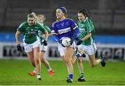 5 December 2020; Sarah Jane Winders of Wicklow in action against Fermanagh during the TG4 All-Ireland Junior Ladies Football Championship Final match between Fermanagh and Wicklow at Parnell Park in Dublin. Photo by Matt Browne/Sportsfile