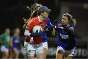 5 December 2020; Shauna Murphy of Fermanagh in action against Wicklow during the TG4 All-Ireland Junior Ladies Football Championship Final match between Fermanagh and Wicklow at Parnell Park in Dublin. Photo by Matt Browne/Sportsfile