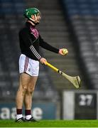 29 November 2020; Éanna Murphy of Galway during the GAA Hurling All-Ireland Senior Championship Semi-Final match between Limerick and Galway at Croke Park in Dublin. Photo by Eóin Noonan/Sportsfile