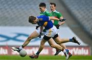 6 December 2020; Brian Fox of Tipperary scores his side's first goal despite the challenge of Patrick Durcan of Mayo during the GAA Football All-Ireland Senior Championship Semi-Final match between Mayo and Tipperary at Croke Park in Dublin. Photo by Brendan Moran/Sportsfile