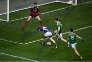 6 December 2020; Brian Fox of Tipperary shoots to score his side's first goal during the GAA Football All-Ireland Senior Championship Semi-Final match between Mayo and Tipperary at Croke Park in Dublin. Photo by Sam Barnes/Sportsfile