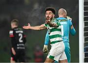 6 December 2020; Roberto Lopes of Shamrock Rovers during the Extra.ie FAI Cup Final match between Shamrock Rovers and Dundalk at the Aviva Stadium in Dublin. Photo by Seb Daly/Sportsfile