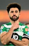6 December 2020; Roberto Lopes of Shamrock Rovers following the Extra.ie FAI Cup Final match between Shamrock Rovers and Dundalk at the Aviva Stadium in Dublin. Photo by Eóin Noonan/Sportsfile