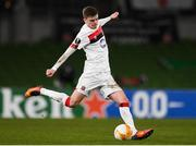 10 December 2020; Sean Gannon of Dundalk during the UEFA Europa League Group B match between Dundalk and Arsenal at the Aviva Stadium in Dublin. Photo by Ben McShane/Sportsfile