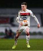 10 December 2020; Darragh Leahy of Dundalk during the UEFA Europa League Group B match between Dundalk and Arsenal at the Aviva Stadium in Dublin. Photo by Ben McShane/Sportsfile