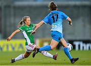 12 December 2020; Sophie Liston of Cork City in action against Dearbhaile Beirne of Peamount United during the FAI Women's Senior Cup Final match between Cork City and Peamount United at Tallaght Stadium in Dublin. Photo by Eóin Noonan/Sportsfile