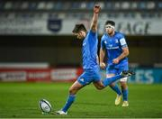 12 December 2020; Ross Byrne of Leinster kicks a penalty during the Heineken Champions Cup Pool A Round 1 match between Montpellier and Leinster at the GGL Stadium in Montpellier, France. Photo by Harry Murphy/Sportsfile