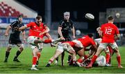 12 December 2020; Nick McCarthy of Munster A clears the ball during the A Interprovincial Friendly between Ulster A and Munster A at Kingspan Stadium, Ravenhill Park, Belfast, Northern Ireland. Photo by John Dickson/Sportsfile