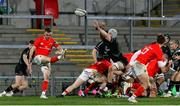 12 December 2020; Nick McCarthy of Munster A clears during the A Interprovincial Friendly between Ulster A and Munster A at Kingspan Stadium, Ravenhill Park, Belfast, Northern Ireland. Photo by John Dickson/Sportsfile