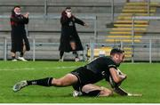 12 December 2020; Aaron Sexton of Ulster A scores the winning try during the A Interprovincial Friendly between Ulster A and Munster A at Kingspan Stadium, Ravenhill Park, Belfast, Northern Ireland. Photo by John Dickson/Sportsfile