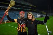 12 December 2020; Kellyann Doyle of Kilkenny, left, and Katie Power celebrate following the Liberty Insurance All-Ireland Senior Camogie Championship Final match between Galway and Kilkenny at Croke Park in Dublin. Photo by David Fitzgerald/Sportsfile