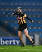12 December 2020; Claire Phelan of Kilkenny celebrates at the final whistle following the Liberty Insurance All-Ireland Senior Camogie Championship Final match between Galway and Kilkenny at Croke Park in Dublin. Photo by David Fitzgerald/Sportsfile
