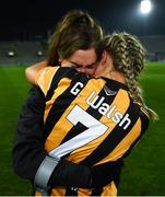 12 December 2020; Grace Walsh of Kilkenny with Katie Power following the Liberty Insurance All-Ireland Senior Camogie Championship Final match between Galway and Kilkenny at Croke Park in Dublin. Photo by David Fitzgerald/Sportsfile