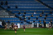 12 December 2020; Kilkenny subs and management look on during the Liberty Insurance All-Ireland Senior Camogie Championship Final match between Galway and Kilkenny at Croke Park in Dublin. Photo by David Fitzgerald/Sportsfile