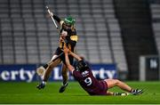 12 December 2020; Collette Dormer of Kilkenny gets past Niamh Kilkenny of Galway during the Liberty Insurance All-Ireland Senior Camogie Championship Final match between Galway and Kilkenny at Croke Park in Dublin. Photo by Piaras Ó Mídheach/Sportsfile
