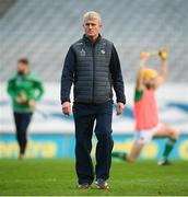 13 December 2020; Limerick manager John Kiely ahead of the GAA Hurling All-Ireland Senior Championship Final match between Limerick and Waterford at Croke Park in Dublin. Photo by Stephen McCarthy/Sportsfile
