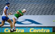 13 December 2020; Kyle Hayes of Limerick shoots at goal during the GAA Hurling All-Ireland Senior Championship Final match between Limerick and Waterford at Croke Park in Dublin. Photo by Ramsey Cardy/Sportsfile