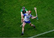 13 December 2020; Calum Lyons of Waterford in action against Graeme Mulcahy of Limerick during the GAA Hurling All-Ireland Senior Championship Final match between Limerick and Waterford at Croke Park in Dublin. Photo by Daire Brennan/Sportsfile