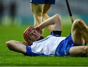13 December 2020; Tadhg De Búrca of Waterford reacts after being substituted after receiving an injury in the first half during the GAA Hurling All-Ireland Senior Championship Final match between Limerick and Waterford at Croke Park in Dublin. Photo by Piaras Ó Mídheach/Sportsfile