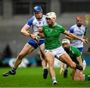13 December 2020; Austin Gleeson of Waterford is tackled by Kyle Hayes of Limerick during the GAA Hurling All-Ireland Senior Championship Final match between Limerick and Waterford at Croke Park in Dublin. Photo by Ramsey Cardy/Sportsfile