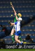 13 December 2020; Shane McNulty of Waterford in action against Barry Nash of Limerick during the GAA Hurling All-Ireland Senior Championship Final match between Limerick and Waterford at Croke Park in Dublin. Photo by Ray McManus/Sportsfile