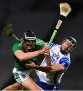 13 December 2020; Gearóid Hegarty of Limerick is tackled by Conor Gleeson of Waterford during the GAA Hurling All-Ireland Senior Championship Final match between Limerick and Waterford at Croke Park in Dublin. Photo by Ray McManus/Sportsfile