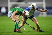 13 December 2020; Pat Ryan of Limerick in action against Shane McNulty of Waterford during the GAA Hurling All-Ireland Senior Championship Final match between Limerick and Waterford at Croke Park in Dublin. Photo by Stephen McCarthy/Sportsfile