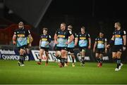 13 December 2020; Harlequins players including Joe Marler, left, and Wilco Louw, centre, dejected during the Heineken Champions Cup Pool B Round 1 match between Munster and Harlequins at Thomond Park in Limerick. Photo by Sam Barnes/Sportsfile