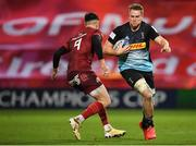 13 December 2020; Alex Dombrandt of Harlequins in action against Conor Murray of Munster during the Heineken Champions Cup Pool B Round 1 match between Munster and Harlequins at Thomond Park in Limerick. Photo by Seb Daly/Sportsfile