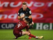 13 December 2020; Alex Dombrandt of Harlequins is tackled by Conor Murray of Munster during the Heineken Champions Cup Pool B Round 1 match between Munster and Harlequins at Thomond Park in Limerick. Photo by Seb Daly/Sportsfile