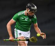 13 December 2020; Gearóid Hegarty of Limerick during the GAA Hurling All-Ireland Senior Championship Final match between Limerick and Waterford at Croke Park in Dublin. Photo by Ray McManus/Sportsfile