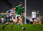 13 December 2020; Diarmaid Byrnes of Limerick in action against Jamie Barron of Waterford during the GAA Hurling All-Ireland Senior Championship Final match between Limerick and Waterford at Croke Park in Dublin. Photo by Ray McManus/Sportsfile
