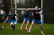 14 December 2020; Peter Dooley during Leinster Rugby squad training at UCD in Dublin. Photo by Ramsey Cardy/Sportsfile