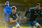 14 December 2020; Josh van der Flier, left, and James Ryan during Leinster Rugby squad training at UCD in Dublin. Photo by Ramsey Cardy/Sportsfile