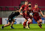 13 December 2020; Conor Murray of Munster in action against Will Evans of Harlequins during the Heineken Champions Cup Pool B Round 1 match between Munster and Harlequins at Thomond Park in Limerick. Photo by Seb Daly/Sportsfile