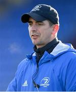 12 December 2020; Leinster A head coach Noel McNamara ahead of the A Interprovincial Friendly match between Leinster A and Connacht Eagles at Energia Park in Dublin. Photo by Ramsey Cardy/Sportsfile
