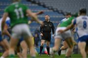 13 December 2020; Referee Fergal Horgan during the GAA Hurling All-Ireland Senior Championship Final match between Limerick and Waterford at Croke Park in Dublin. Photo by Piaras Ó Mídheach/Sportsfile