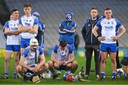 13 December 2020; Waterford players, including Conor Gleeson, Jack Fagan, Stephen Bennett and Darragh Lyons  dejected following the GAA Hurling All-Ireland Senior Championship Final match between Limerick and Waterford at Croke Park in Dublin. Photo by Ramsey Cardy/Sportsfile