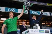 13 December 2020; Brothers Conor Boylan, left and Jerome Boylan of Limerick lift the Liam MacCarthy Cup following the GAA Hurling All-Ireland Senior Championship Final match between Limerick and Waterford at Croke Park in Dublin. Photo by Ray McManus/Sportsfile