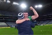 13 December 2020; Seán Finn of Limerick celebrates after the GAA Hurling All-Ireland Senior Championship Final match between Limerick and Waterford at Croke Park in Dublin. Photo by Piaras Ó Mídheach/Sportsfile