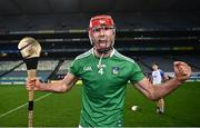 13 December 2020; Barry Nash of Limerick celebrates following the GAA Hurling All-Ireland Senior Championship Final match between Limerick and Waterford at Croke Park in Dublin. Photo by David Fitzgerald/Sportsfile