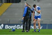 13 December 2020; Austin Gleeson of Waterford after picking up an injury during the GAA Hurling All-Ireland Senior Championship Final match between Limerick and Waterford at Croke Park in Dublin. Photo by Piaras Ó Mídheach/Sportsfile
