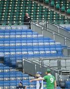 13 December 2020; Uachtarán Chumann Lúthchleas Gael John Horan in attendance during the GAA Hurling All-Ireland Senior Championship Final match between Limerick and Waterford at Croke Park in Dublin. Photo by Piaras Ó Mídheach/Sportsfile
