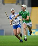 13 December 2020; Kyle Hayes of Limerick in action against Neil Montgomery of Waterford during the GAA Hurling All-Ireland Senior Championship Final match between Limerick and Waterford at Croke Park in Dublin. Photo by Piaras Ó Mídheach/Sportsfile